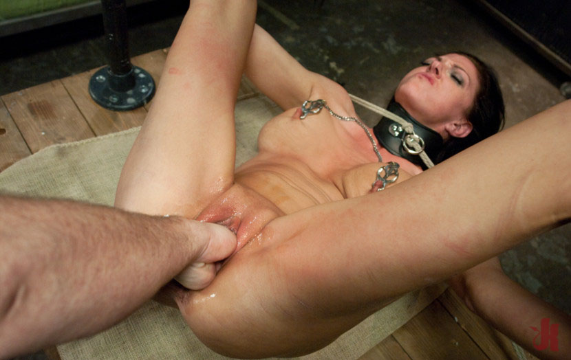 Roxanne hall gets cum out of her own cunt 3
