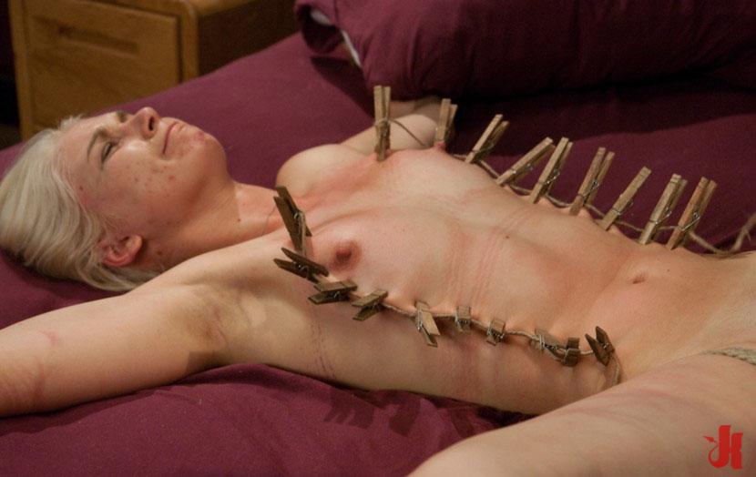 nipple sex on bed